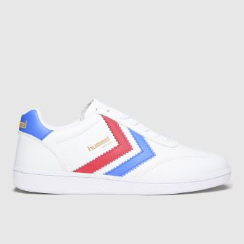 hummel White & Blue Vm78 Cph Og Mens Trainers