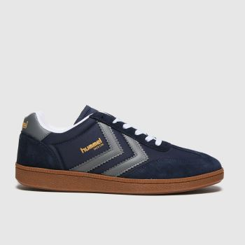 hummel Navy Vm78 Cph Nylon Mens Trainers