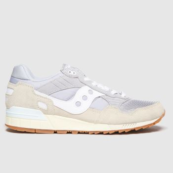 Saucony Light Grey Shadow 5000 Mens Trainers