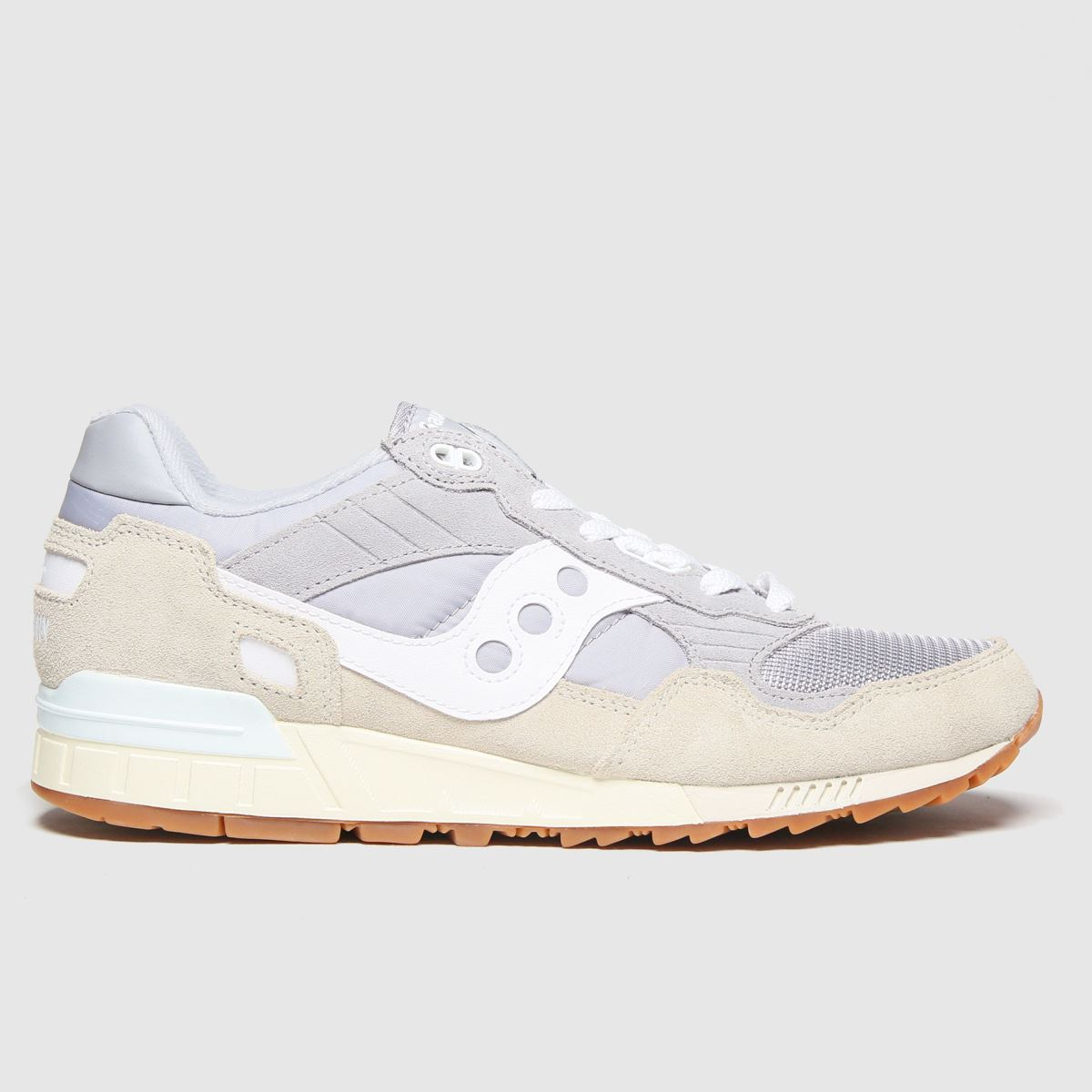 Saucony Saucony Light Grey Shadow 5000 Trainers