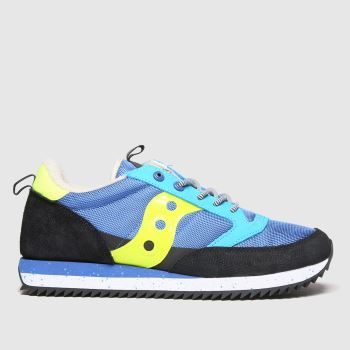 Saucony Blue Jazz Peak Mens Trainers
