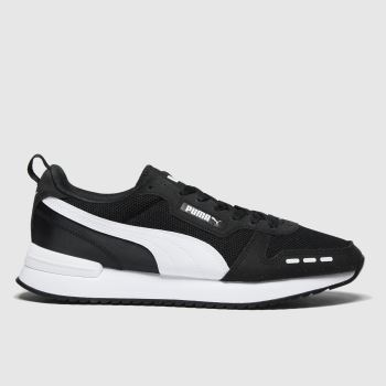 PUMA Black R78 Mens Trainers