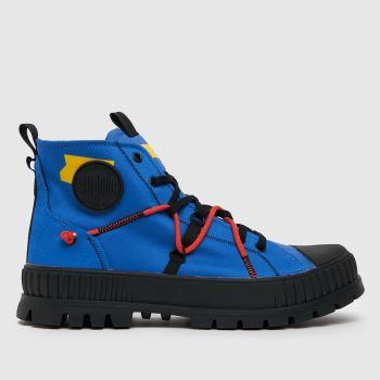 Palladium Blau Pallashock Re-craft Herren Sneaker