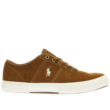 Polo Ralph Lauren Tan Tyrian Mens Shoes