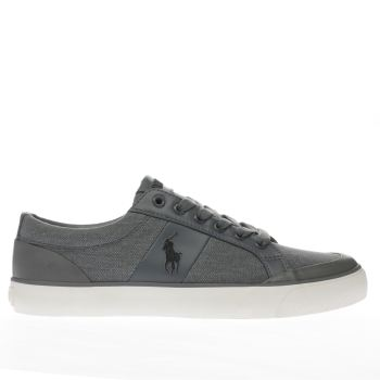 Polo Ralph Lauren Grey Ian Mens Trainers
