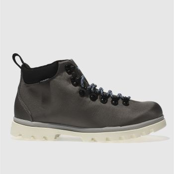 NATIVE DARK GREY FITZSIMMONS TREKLITE BOOTS