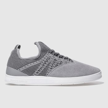 Diamond Supply Co Grey All Day Mens Trainers