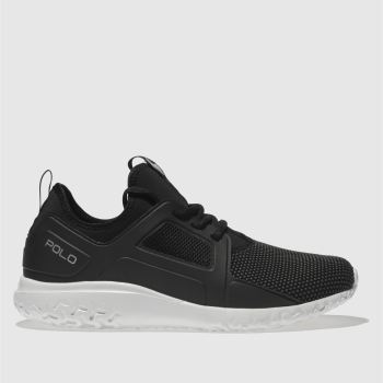 Polo Ralph Lauren Black TRAIN 150 Trainers