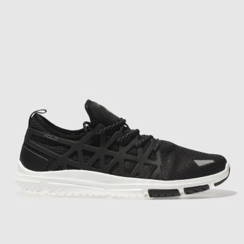 Polo Ralph Lauren Black & Grey TRAIN 200 Trainers