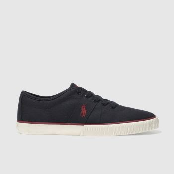 Polo Ralph Lauren Navy HALFORD Shoes