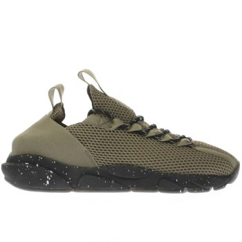 Clear Weather Khaki Interceptor Mens Trainers