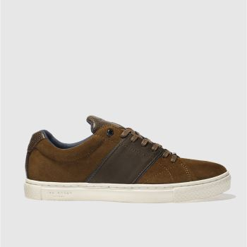 Ted Baker Tan Dannez Mens Trainers