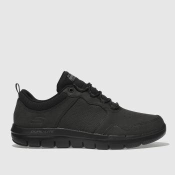 Skechers Black FLEX ADVANTAGE 2.0 DALI Trainers