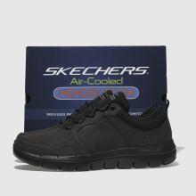 da60123edd80 mens black skechers flex advantage 2.0 dali trainers