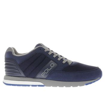 POLO RALPH LAUREN NAVY LAXMAN TRAINERS