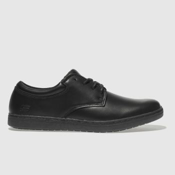 Skechers Black Lanson Mens Trainers