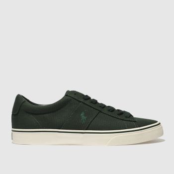 Polo Ralph Lauren Dark Green Sayer Ne Mens Trainers