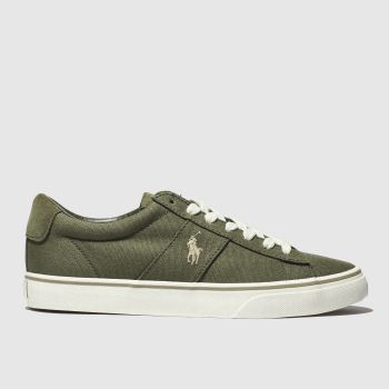 Polo Ralph Lauren Khaki Sayer Ne Mens Trainers