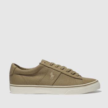 Polo Ralph Lauren Tan Sayer Ne Mens Trainers
