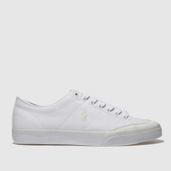 Polo Ralph Lauren White Sherwin Mens Trainers