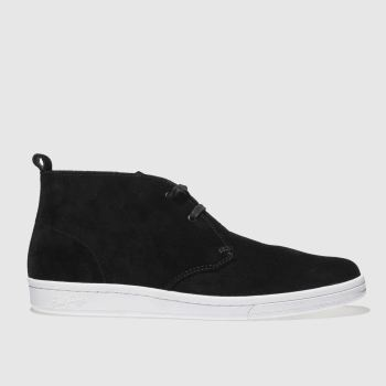 Fred Perry Black B721 X George Cox Mens Boots