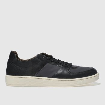 H By Hudson Black 313 Biggar Mens Trainers