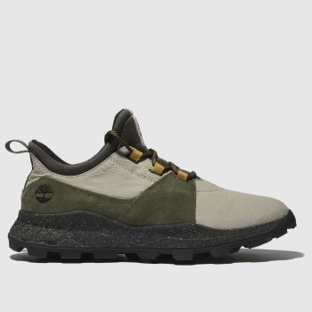 Timberland Green & Stone Brooklyn Oxford Trainers