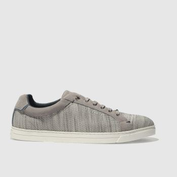 Ted Baker Light Grey Demes Mens Trainers