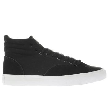DIAMOND SUPPLY CO BLACK SELECT HI TRAINERS