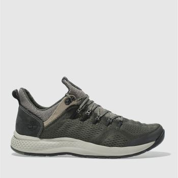Timberland Khaki Flyroam Trail Low Mens Trainers