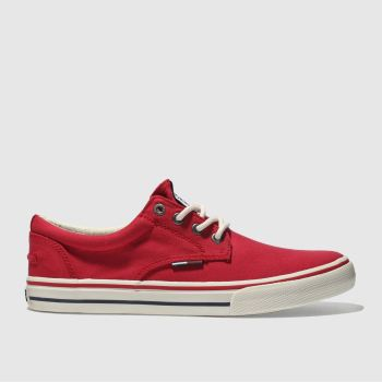 Tommy Hilfiger Red Tj Tx Sneaker Mens Trainers