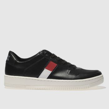Tommy Hilfiger Black Tj Basket Sneaker Mens Trainers