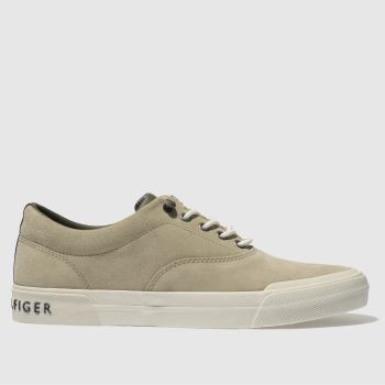 Tommy Hilfiger Natural Htg Sneaker Mens Trainers