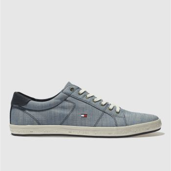 Tommy Hilfiger Blue Essential Pique Mens Trainers