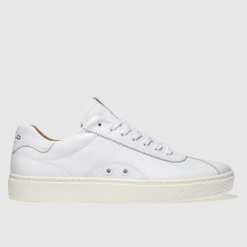Polo Ralph Lauren White COURT 100 LUX Trainers