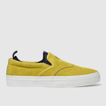 Diamond Supply Co Yellow BOO J XL Trainers