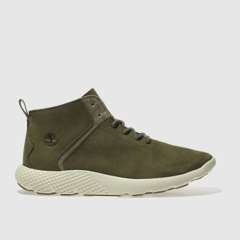 Timberland Khaki Flyroam Super Ox Mens Trainers