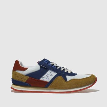 Paul Smith Shoe Ps Blue Vinny Mens Trainers