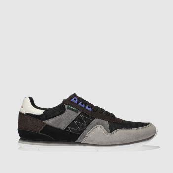 Paul Smith Shoe Ps Dark Grey Vinny Mens Trainers