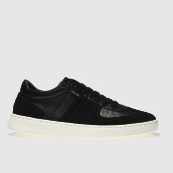 Paul Smith Shoe Ps Black Reemo Mens Trainers
