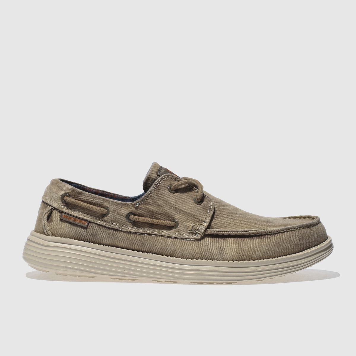 Skechers Brown Status Melec Shoes