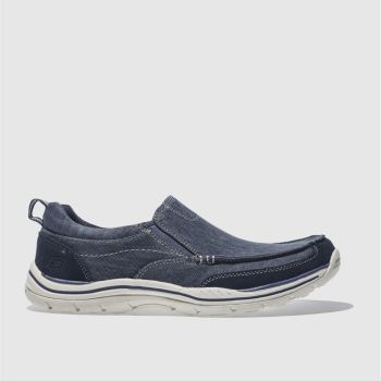 Skechers Navy Expected Tomen Mens Trainers