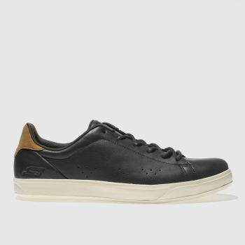 Skechers Black Go Vulc 2 Mens Trainers