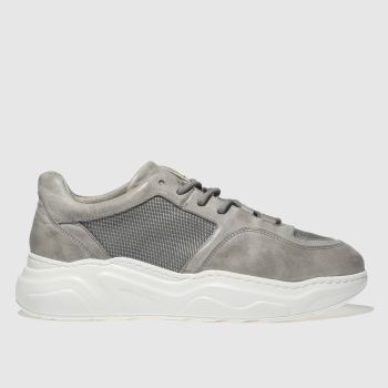 Schuh Grey Vito Mens Trainers