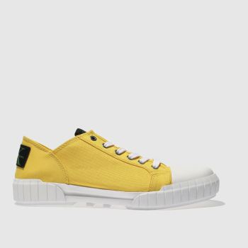 Calvin Klein Yellow Jeans Biff Mens Trainers