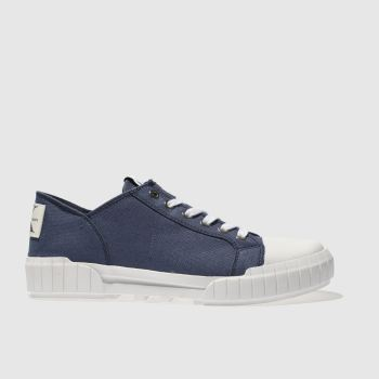 Calvin Klein Navy Jeans Biff Mens Trainers