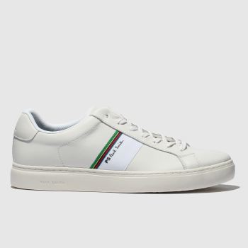 Paul Smith Shoe Ps White Rex Mens Trainers