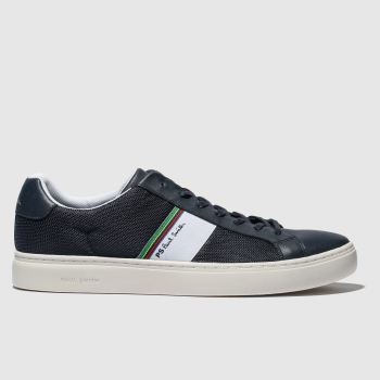 Paul Smith Shoe Ps Navy Rex Mens Trainers