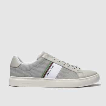 Paul Smith Shoe Ps Grey Rex Mens Trainers