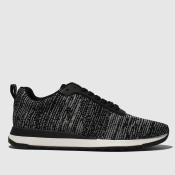 Paul Smith Shoe Ps Black Rappid Mens Trainers